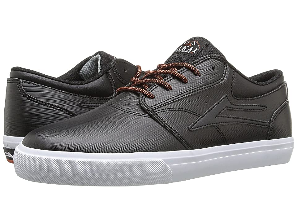 Lakai Griffin Weather Treated (Black Synthetic) Men