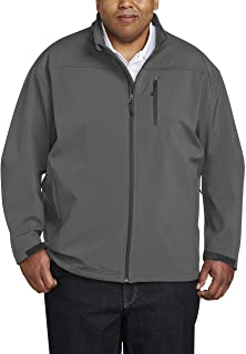 Men's Big & Tall Water-Resistant Softshell Jacket fit by DXL