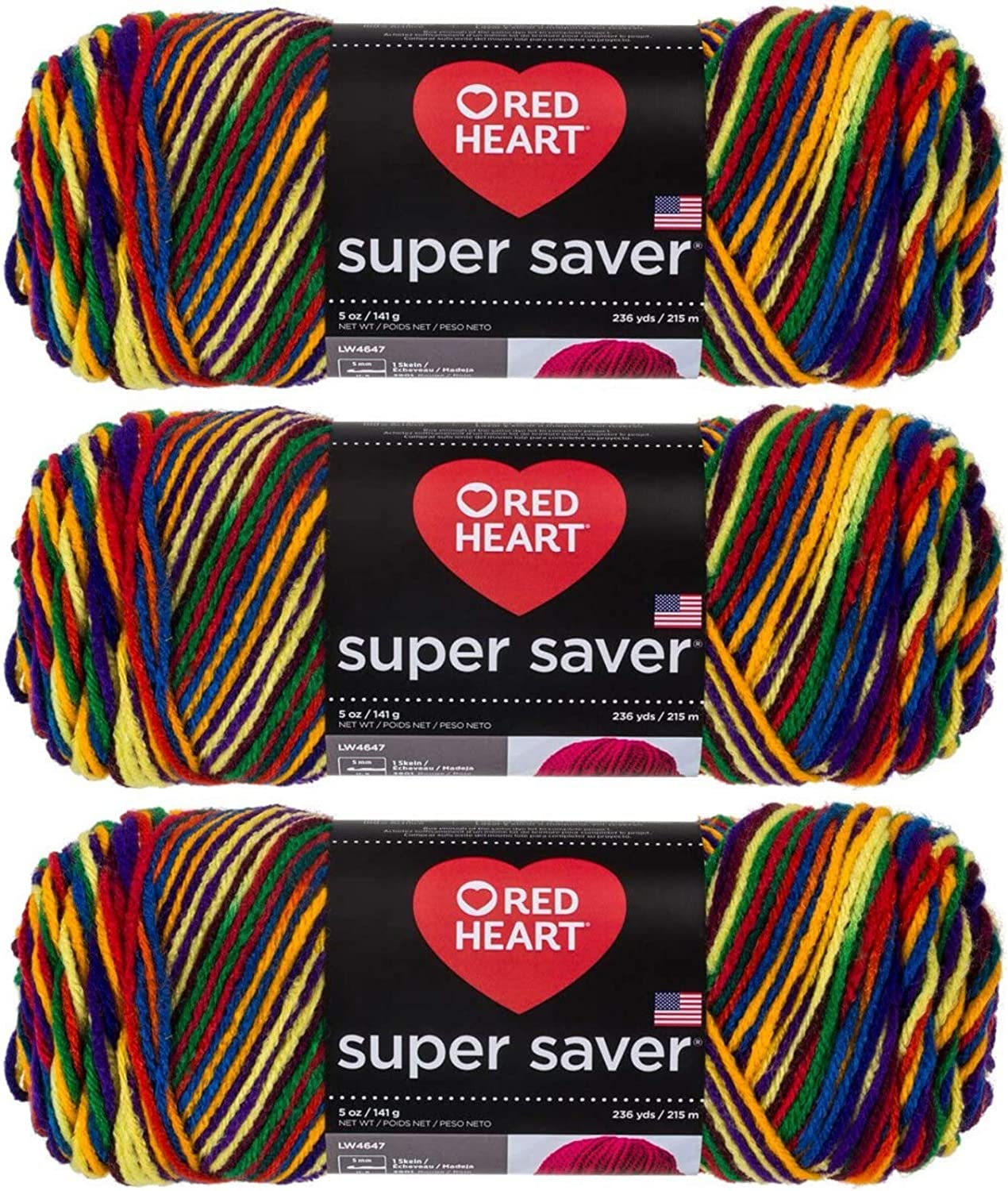 Red Heart Elegant E300-950 Super Yarn - Mexicana Limited Special Price Saver