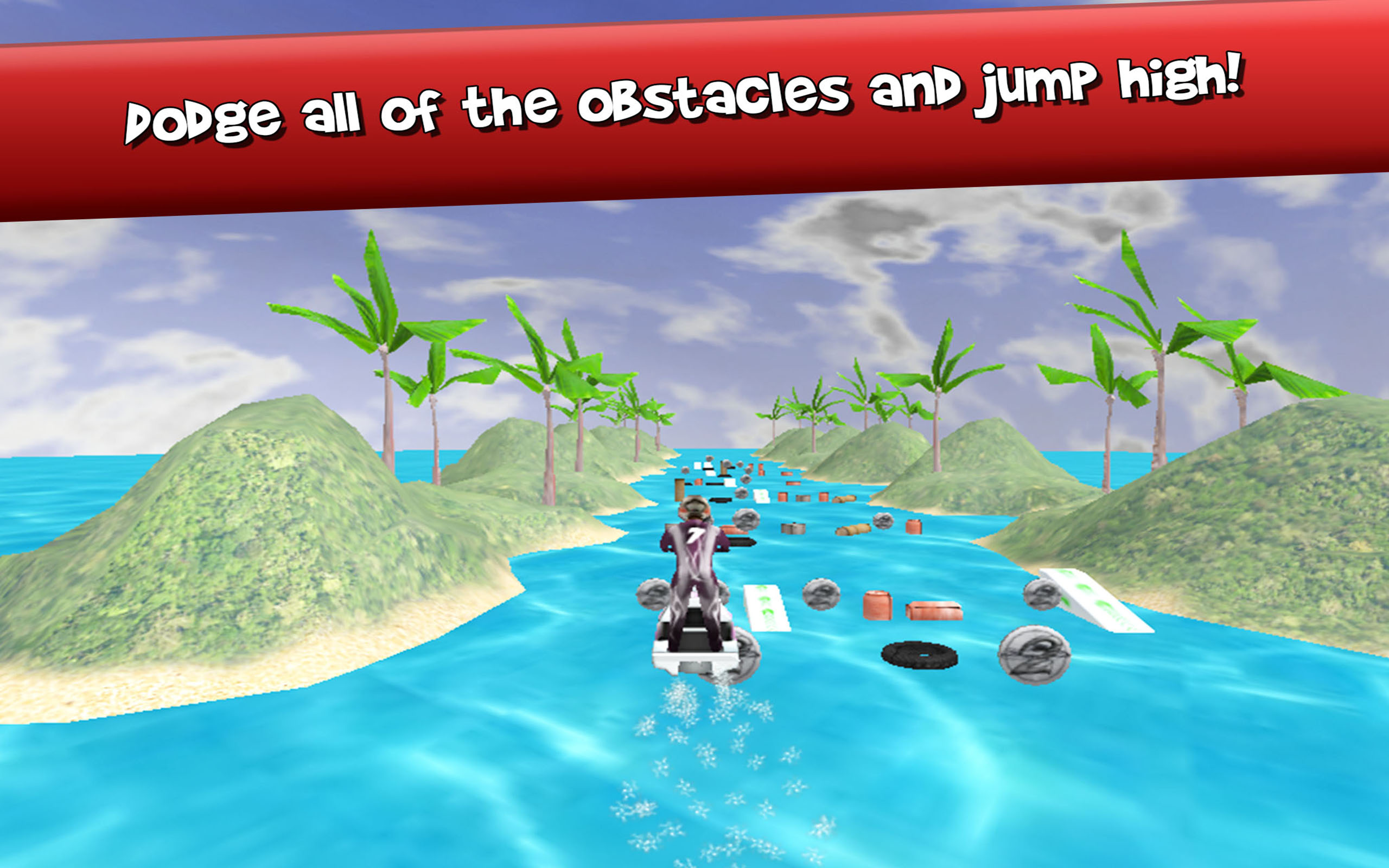 Jet Ski Racing GP Infinite Run 3D – Driving Simulator Hydro River Runner and Splash Aqua Rider Speed