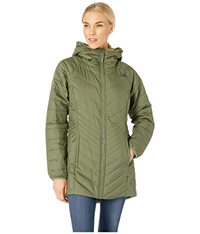 The North Face Mossbud Insulated Reversible Parka (Four Leaf Clover) Women