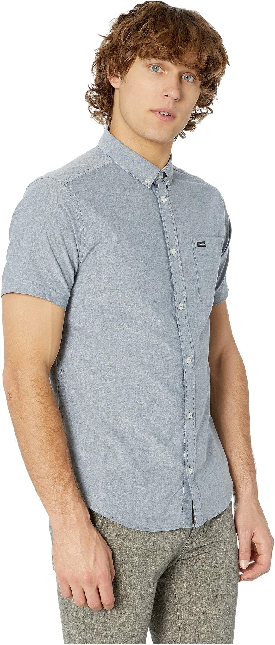 RVCA That'll Do Stretch Short Sleeve Woven g7lT3