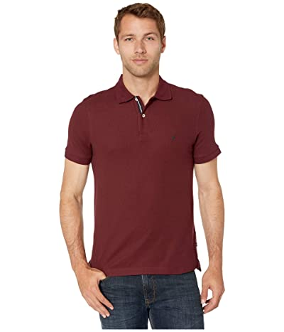 Nautica Solid FCA Deck Shirt (Royal Burgundy) Men