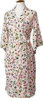 LÍLLÉbaby Cozy Robe for Maternity & Post-Partum Comfort, Bloom - S/M