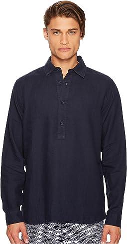 Orlebar Brown - Ridley Riviera Linen Popover Shirt