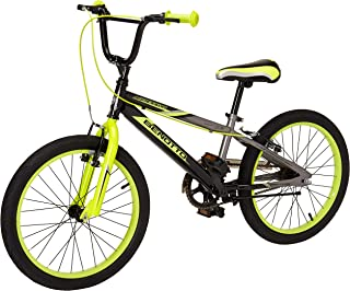 Benotto Agressor Cross Bicicleta de Acero, Frenos V, Color Negro/Gris/Amarillo