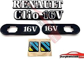 youngtimersclassic Monograma Renault+Clio 16V+ Soportes Intermitentes 16V+ DIAC