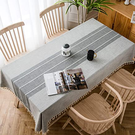 Amazon.com & Amazon.com: Grey Tablecloths