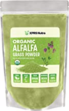 XPRS Nutra Organic Alfalfa Grass Powder - Alfalfa Supplement Contains Calcium, Antioxidants, Vitamins - Alfalfa Powder Sup...