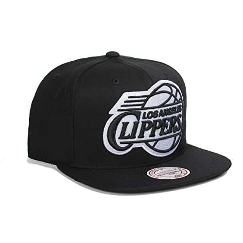 super popular a24a6 3cd8a Mitchell   Ness NBA Los Angeles Clippers 3D Undervisor and Logo Snapback Hat  Cap (One