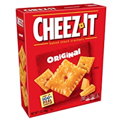 Cheez-It Baked Snack Cheese Crackers, Original, 7 oz Box
