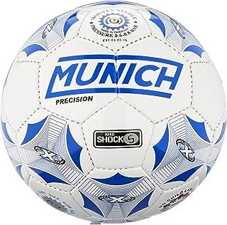 Munich Balón Fútbol Sala Precision Sala, Color Blanco/Azul Royal