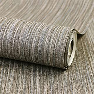 JZ·HOME 20118 Faux Linen Weave Texture Wallpaper Solid Color Simple Natural Wallpaper Home Room Cafe Wall Decoration 20.8