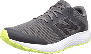 new balance Men's 420 Grey/Yellow Running Shoe