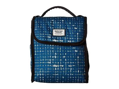 Burton Lunch Sack (Blue Sapphire Ripstop Texture Print) Bags