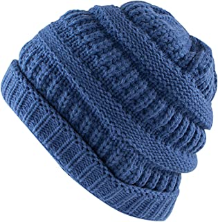 Knit Low Slouch Thermal Beanie for Ski, Cycling, Protection