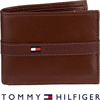 Men's Thin Sleek Casual Bifold Wallet with 6 Credit Card Pockets and Removable Id Window