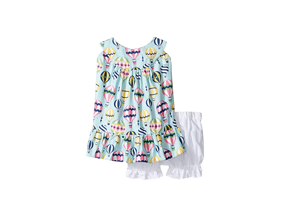 fiveloaves twofish Take Off with Me Sun Dress (Infant) (Sky Blue) Girl
