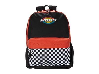 Vans Street Sport Realm Backpack (Black/Oval Teen) Backpack Bags