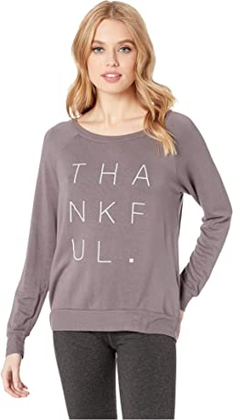 "Chelsea ""Thankful"" Pullover"
