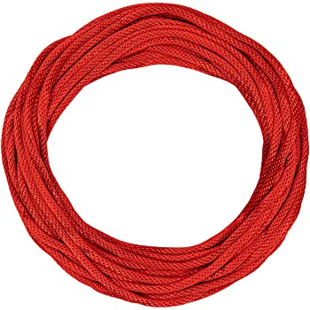 Sgt Knots Solid Braid Nylon Utility Rope Multipurpose Rope For Commercial Applications Anchors Crafts 1 4 X 100ft Red Amazon Com