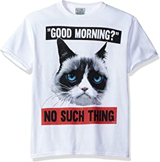 Grumpy Cat Boys' Happy Monday Graphic T-Shirt