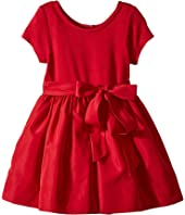 Polo Ralph Lauren Kids - Fit-and-Flare Dress & Bloomer (Toddler)