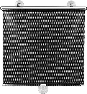 BESPORTBLE - Cortina blecaute preta para proteção solar, com microperfurações e ventosa; para portas e janelas