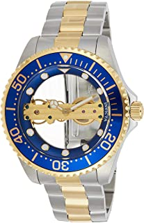 Invicta 26243 Pro Diver Men's Wrist Watch stainless steel Mechanical Blue Dial