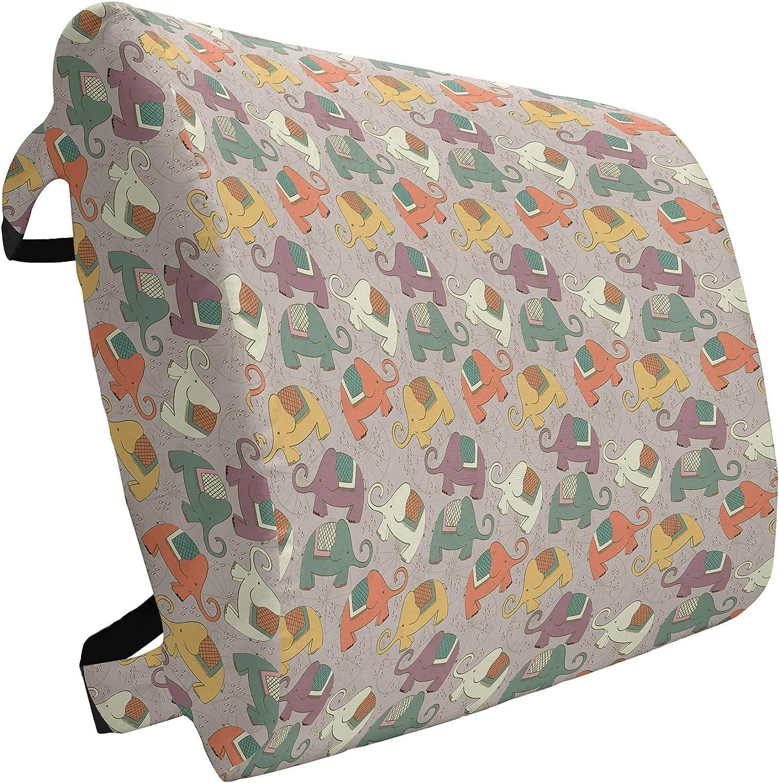 Import Ambesonne Animal Lumbar Pillow Hand Characte Drawn Style Store