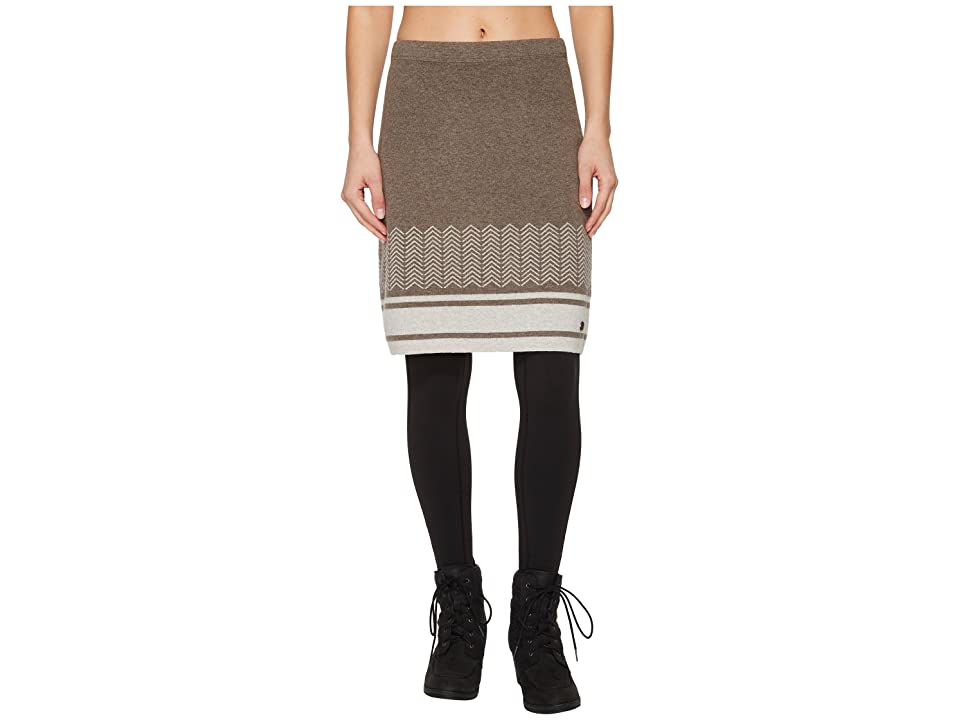 Royal Robbins All Season Merino Skirt (Turkish Coffee) Women