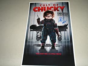 Alex Vincent Signed 11x17 Cult of Chucky Movie Poster Autograph Child's Play