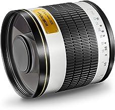 Walimex 15535 - Objetivo para Canon (Distancia Focal Fija 500mm, Apertura f/6.3, diámetro: 34mm) Color Negro y Blanco