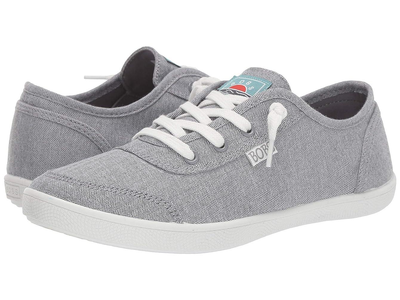 輝く霧ごちそうレディーススニーカー?ウォーキングシューズ?靴 Bobs B Cute - Chillville Gray/White 8 (25cm) B [並行輸入品]
