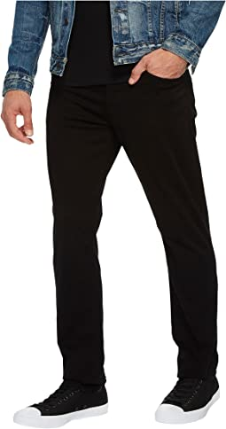 Hudson - Blake Slim Straight Twill in Blackened