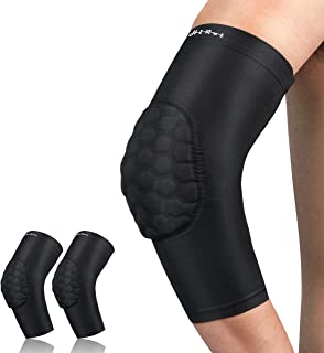 HiRui Elbow Pads, Basketball Baseball Elbow Brace Elbow Support Arm Compression Sleeve, Collision Avoidance Elbow Pad for Volleyball Cycling Football Work Out, Youth&Adult-Unisex (Pair)