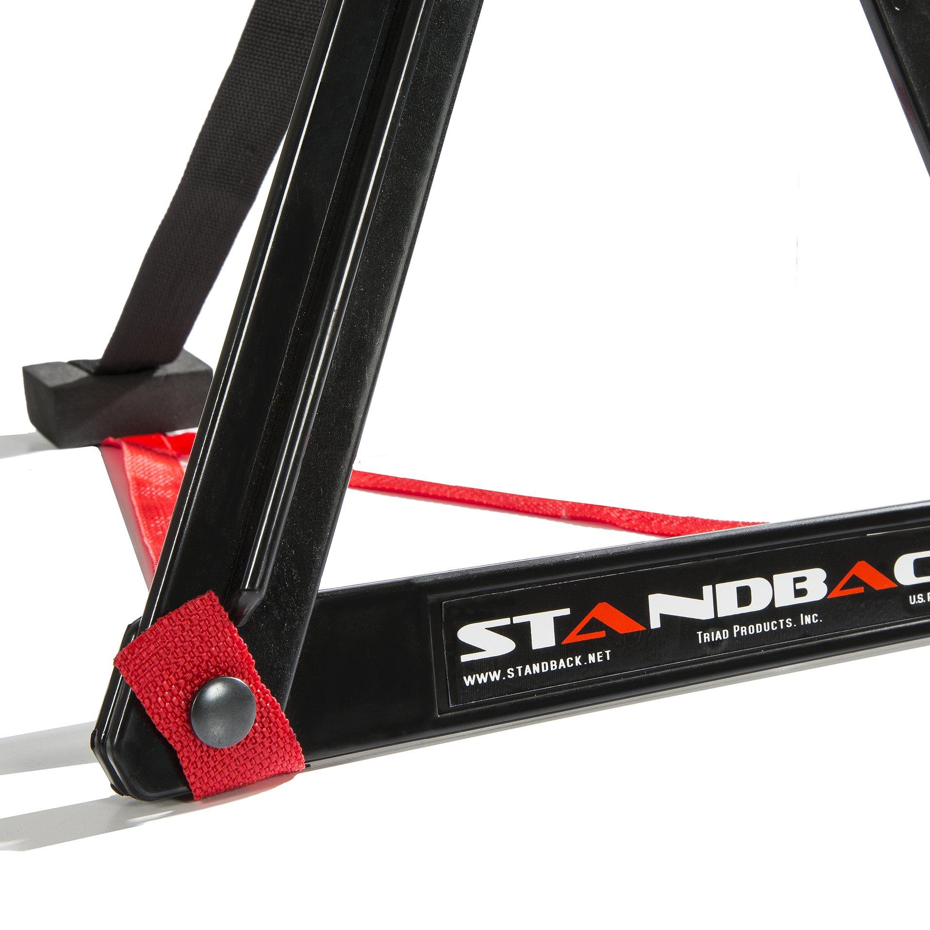 Standback Amp Stand, Light, Compact, and Adjustable