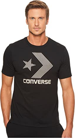 Converse Line Fill Star Chevron Short Sleeve Tee