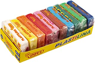 comprar comparacion Jovi Pack de 10 plastilinas, colores, 500 Gramos (70/10S)