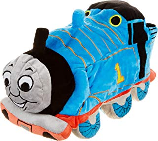 Jay Franco Thomas & Friends Plush Stuffed Toddler Pillow Buddy - Kids Super Soft Polyester Microfiber, 15 inch (Official Mattel Product), D. Thomas