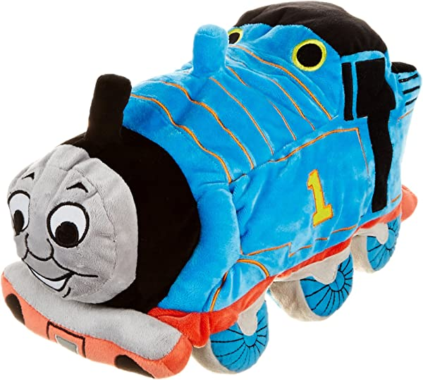 Jay Franco Thomas Friends Plush Stuffed Toddler Pillow Buddy Kids Super Soft Polyester Microfiber 15 Inch Official Mattel Product D Thomas