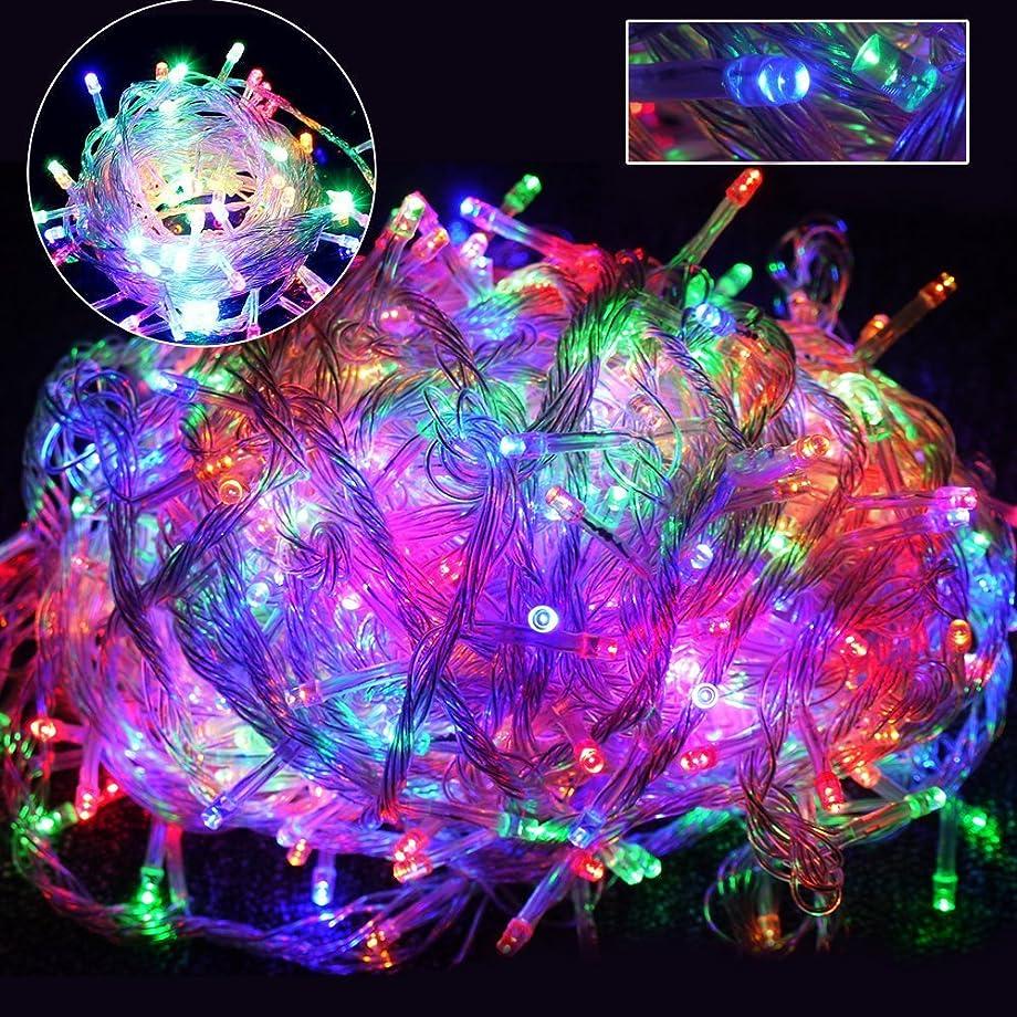 ハーネス贈り物白いGOODGOODS LED イルミネーション ライト クリスマス 飾り LED電飾 ミックスカラ- 500球30m×2個セット メモリー機能搭載 防水 LD66 RGB