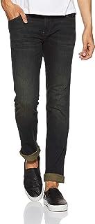 Wrangler Men's Slim Fit Jeans (W29350W2298B038033_Rinse_38W x 33L)