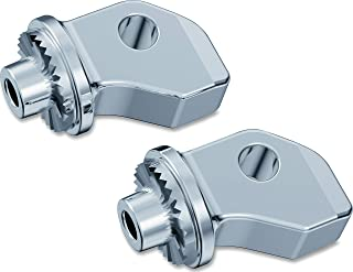 Kuryakyn 8836 Splined Male Mount Peg Adapters for Driver Footpegs and Floorboards: Indian, Victory Motorcycles, Chrome, 1 Pair