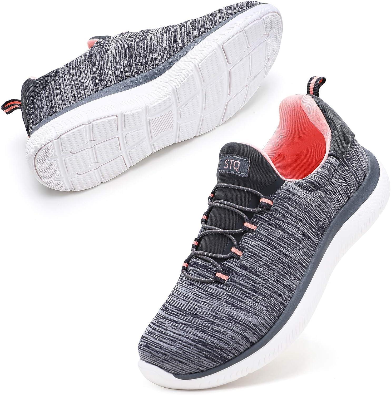 STQ Slip On Sneakers Popular standard for Lightweight Comforta Ranking TOP13 Shoes Tennis Women