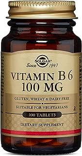 Solgar – Vitamin B6, 100 mg, 100 Tablets