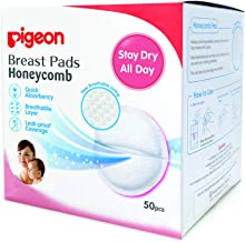 Pigeon HoneyComb Disposable Breast Pads 50's