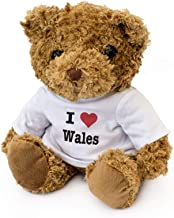 I Love Wales - Teddy Bear - Cute Soft Cuddly - Gift Present Birthday Xmas