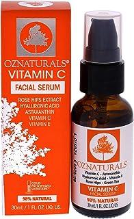 OZNaturals Vitamin C Face Wash With Hyaluronic Acid, Rosehip Oil, Aloe Vera & Vitamin E - Daily Facial Wash & Gentle Pore ...