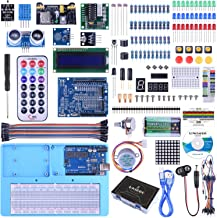UNIROI Ultimate Arduino Starter Kit with R3 Board (Compatible with Arduino IDE), 260 Pages Detailed Tutorial, 217 Items, 51 Projects, Breadboard with Arduino IDE Mega 2560 Robot Nano